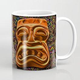 Stony Orange Tiki Coffee Mug