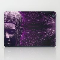 meditation iPad Cases featuring Meditation by JG-DESIGN