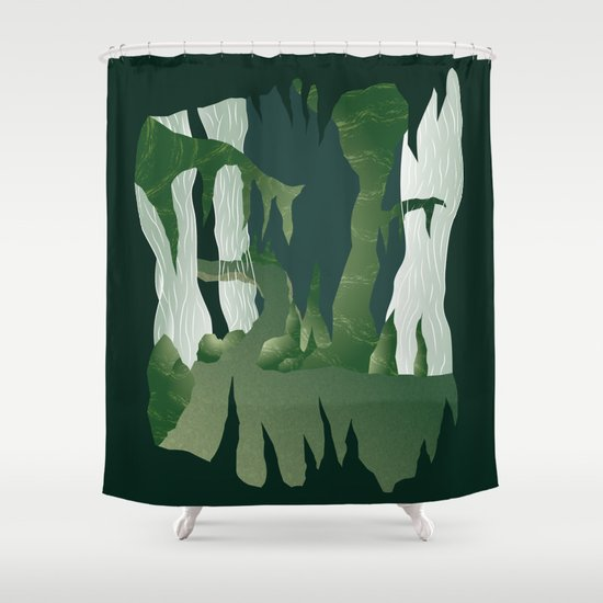 Shenmue - The Great Stone Pit Shower Curtain