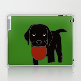 Black Lab Puppy Laptop & iPad Skin