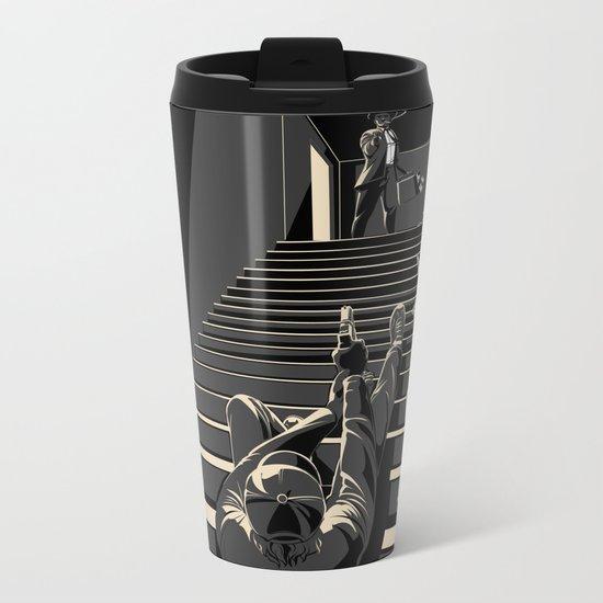 Film noir Metal Travel Mug