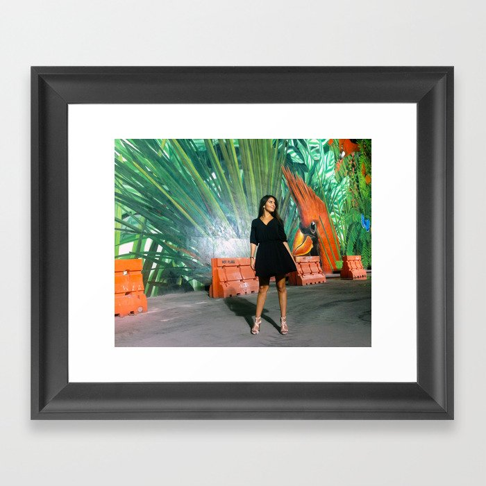Camila Framed Art Print