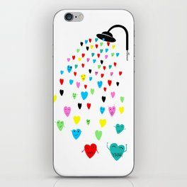 Love shower iPhone Skin