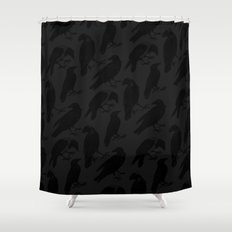 The Raven III Shower Curtain