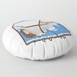 Puglie Milk Carton Floor Pillow