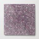 Mauve Pink Mosaic Pattern - darker by fischerfinearts