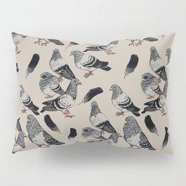 Pigeon Pattern Pillow Sham