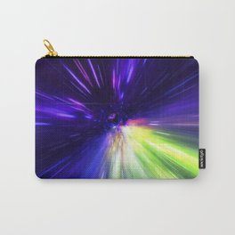 Interstellar, time travel and hyper jump in space Carry-All Pouch