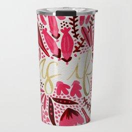 As If – Pink & Gold Travel Mug