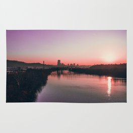 Pittsburgh Sunset Rug
