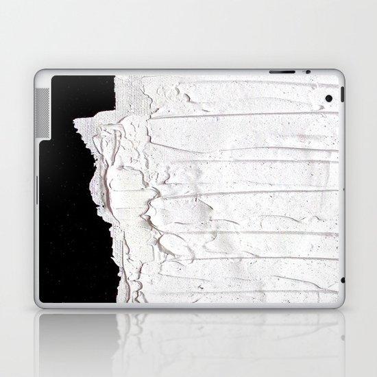 Black, White & White Laptop & iPad Skin