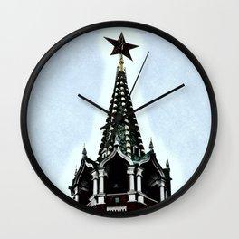 Kremlin Chimes-dramatic Wall Clock