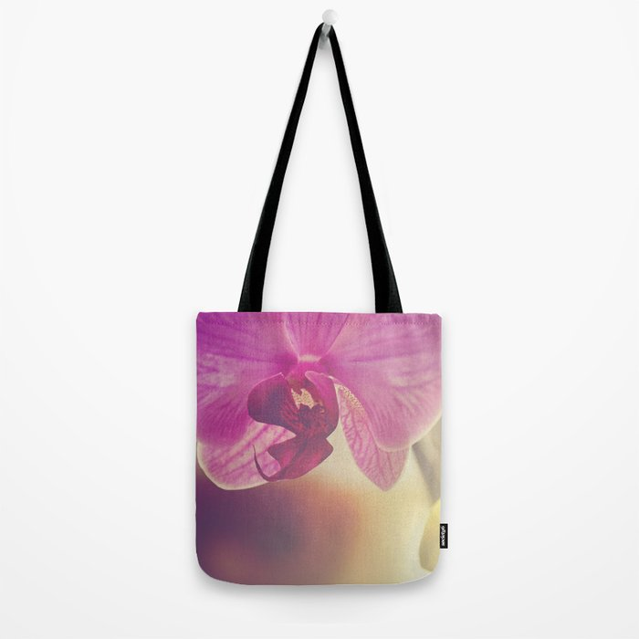 Morning Orchids Tote Bag