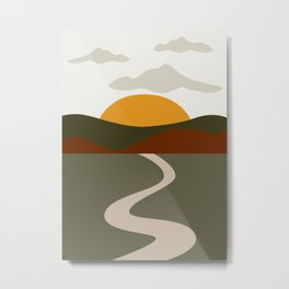 Abstract Landscape #8 Metal Print