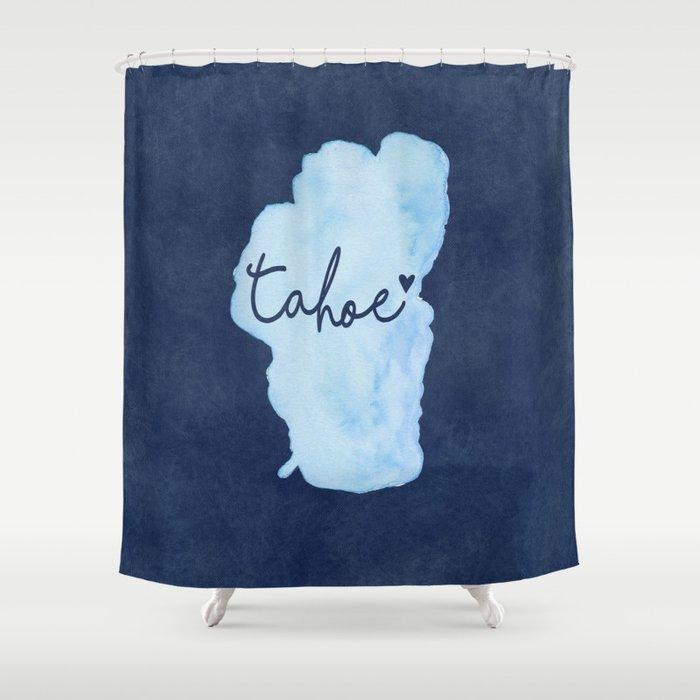 True Blue Shower Curtain