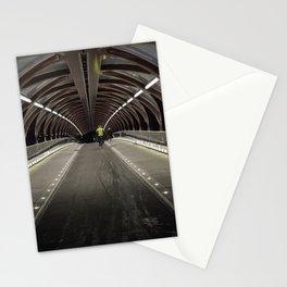 Calgary Peace Bridge Morning Commute Stationery Cards