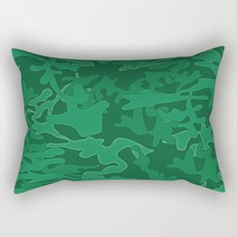 Green Savage-Army Force and Accessories Rectangular Pillow