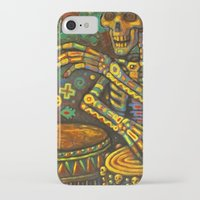 drums iPhone & iPod Cases featuring Death Drums by Sherdeb Akadan