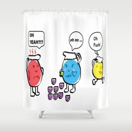 Oh F! Shower Curtain