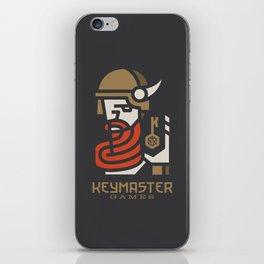 Keymaster Games iPhone Skin