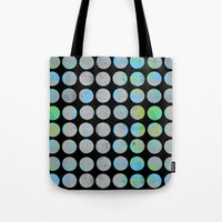 dots Tote Bags featuring Dots  by LebensARTdesign
