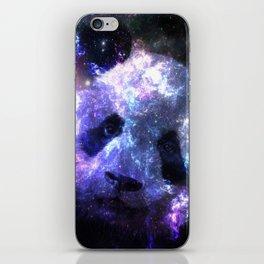 Galaxy Panda Planet Colorful iPhone Skin
