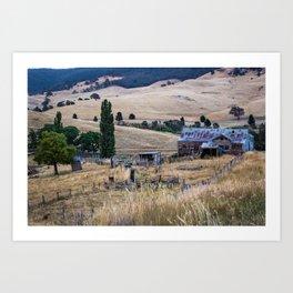 Country Farmhouse Art Print