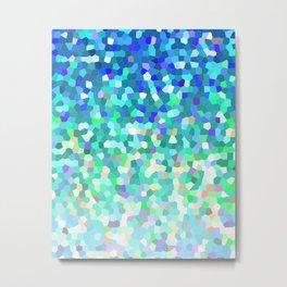 Mosaic Sparkley Texture G149 Metal Print