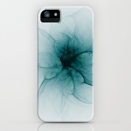 Dark Flower Fractal iPhone Case