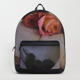 Romantic Reading Backpack