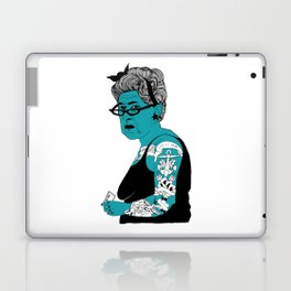 Tattoo Lady colour by Emilythepemily Laptop & iPad Skin