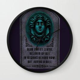 Madame Leota Gravestone Wall Clock