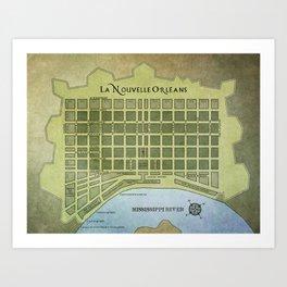 La Nouvelle Orleans Art Print