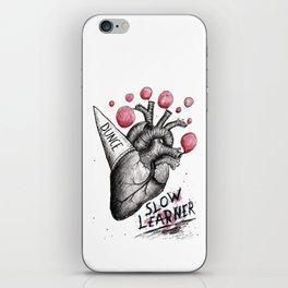 Follow Your Dunce iPhone Skin