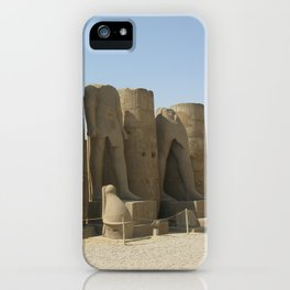 Temple of Luxor, no. 5 iPhone Case