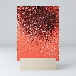 Cali Summer Vibes Lady Glitter #8 #shiny #decor #art #society6 Mini Art Print