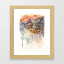 """""""Just Beneath the Surface""""  Framed Art Print"""