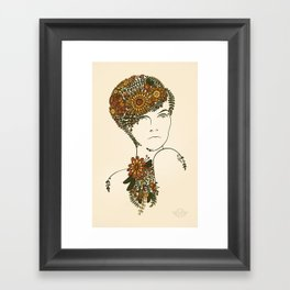 70s chic Framed Art Print