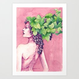 Baccante Art Print