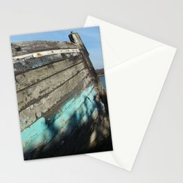 Old boat Stationery Cards