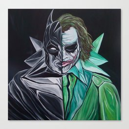 Two Face Bat PART2 Canvas Print
