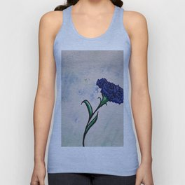 One Carnation Unisex Tank Top