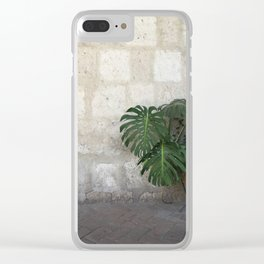 Arequipa Plants v.1 Clear iPhone Case