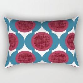 Rosenthal Red Rectangular Pillow