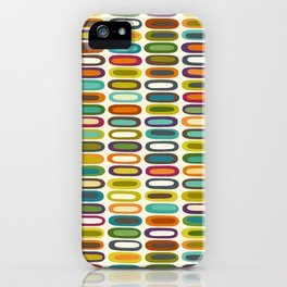 lozenge pearl iPhone Case