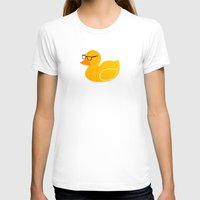 duck T-shirts featuring Duck by Studio14