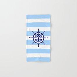 AFE Nautical Helm Wheel Hand & Bath Towel