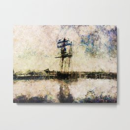 A Gallant Ship Metal Print