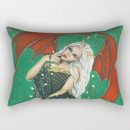 Naughty Or Nice Rectangular Pillow