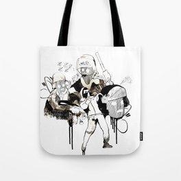Paris Riots Tote Bag